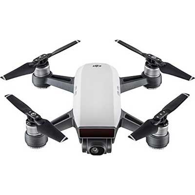 DJI-Spark-Mini-Drone,-White