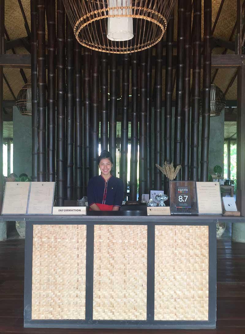 Miss Monday at Azalea Village Resort Reception