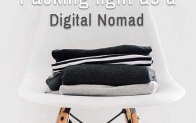 Packing light as a Digital Nomad – nomadgear.org tips