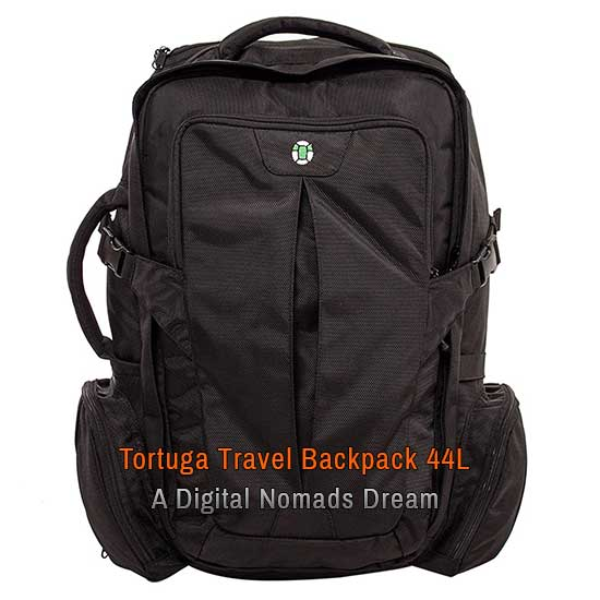 Tortuga Travel Backpack 44L a Digital Nomads Dream