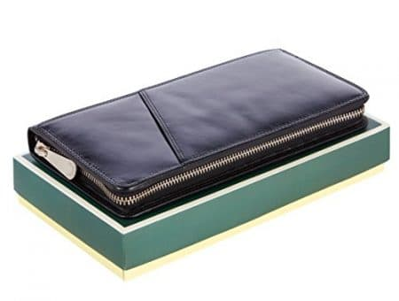 Visconti Large Leather Travel Wallet 3