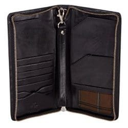 Visconti Large Leather Travel Wallet 16