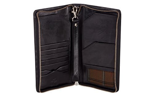Visconti Large Leather Travel Wallet 89