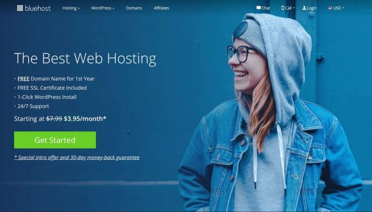 Bluehost Signup Page - Great Webhosting for WordPress