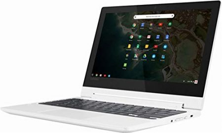 "2019 Lenovo 11.6"" HD IPS Touchscreen 2-in-1 Chromebook, Quad-Core MediaTek MT8173C (4C, 2X A72 + 2X A53), 4GB RAM, 32GB eMMC, 802.11ac WiFi, Bluetooth 4.2, HDMI, Type-C, Chrome OS 5"