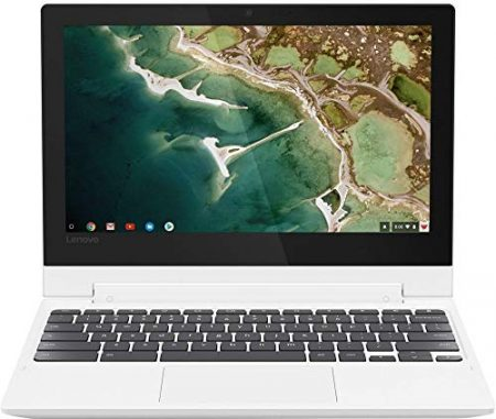 "2019 Lenovo 11.6"" HD IPS Touchscreen 2-in-1 Chromebook, Quad-Core MediaTek MT8173C (4C, 2X A72 + 2X A53), 4GB RAM, 32GB eMMC, 802.11ac WiFi, Bluetooth 4.2, HDMI, Type-C, Chrome OS 6"