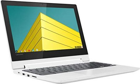 "2019 Lenovo 11.6"" HD IPS Touchscreen 2-in-1 Chromebook, Quad-Core MediaTek MT8173C (4C, 2X A72 + 2X A53), 4GB RAM, 32GB eMMC, 802.11ac WiFi, Bluetooth 4.2, HDMI, Type-C, Chrome OS 7"