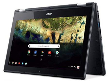 "Acer Chromebook R 11 Convertible Laptop, Celeron N3060, 11.6"" HD Touch, 4GB DDR3L, 32GB eMMC, C738T-C7KD 4"