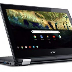 "Acer Chromebook R 11 Convertible Laptop, Celeron N3060, 11.6"" HD Touch, 4GB DDR3L, 32GB eMMC, C738T-C7KD 1"