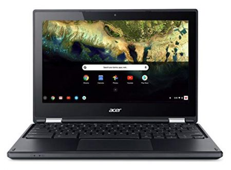 "Acer Chromebook R 11 Convertible Laptop, Celeron N3060, 11.6"" HD Touch, 4GB DDR3L, 32GB eMMC, C738T-C7KD 6"