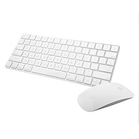 Apple Wireless Magic Keyboard 2 -MLA22LL/A with Apple Magic Bluetooth Mouse 2 -MLA02LL/A (Renewed) 1