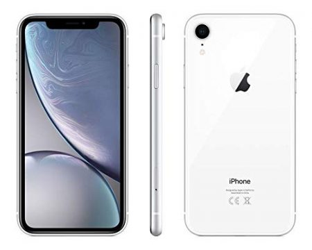 Apple iPhone XR, Fully Unlocked, 64 GB - White (Renewed) 3