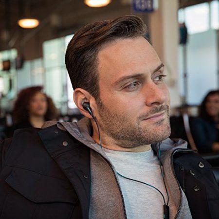 Bose QuietComfort 20 Acoustic Noise Cancelling Headphones, Apple Devices, Black 6