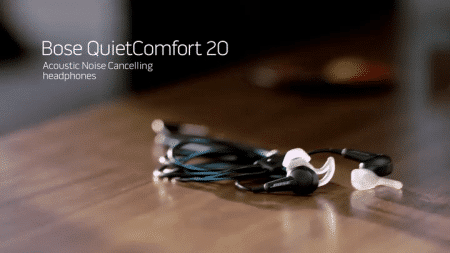 Bose QuietComfort 20 Acoustic Noise Cancelling Headphones, Apple Devices, Black 7