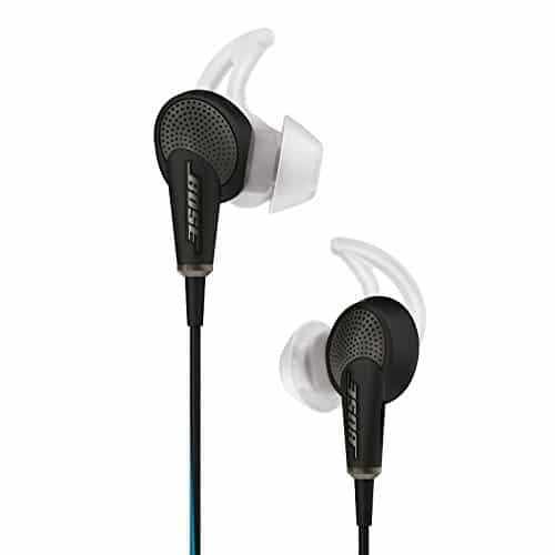 Bose QuietComfort 20 Acoustic Noise Cancelling Headphones, Apple Devices, Black 8
