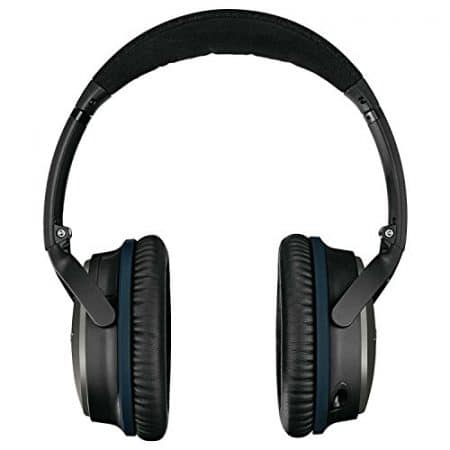 Bose QuietComfort 25 Acoustic Noise Cancelling Headphones for Apple devices - Black (Wired 3.5mm) 3
