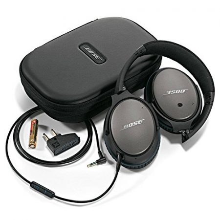 Bose QuietComfort 25 Acoustic Noise Cancelling Headphones for Apple devices - Black (Wired 3.5mm) 4