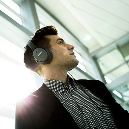 Bose QuietComfort 25 Acoustic Noise Cancelling Headphones for Apple devices - Black (Wired 3.5mm) 6