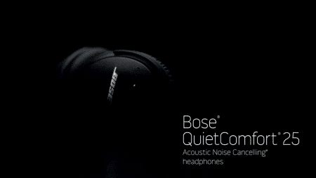 Bose QuietComfort 25 Acoustic Noise Cancelling Headphones for Apple devices - Black (Wired 3.5mm) 7