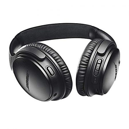 Bose QuietComfort 35 II Wireless Bluetooth Headphones, Noise-Cancelling, with Alexa voice control, enabled with Bose AR – Black 3