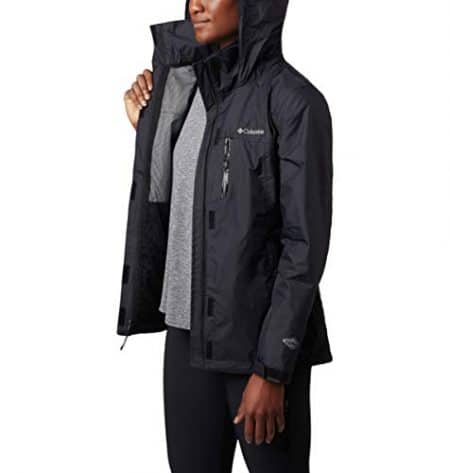 Columbia Women's Pouration Jacket, Waterproof & Breathable 6