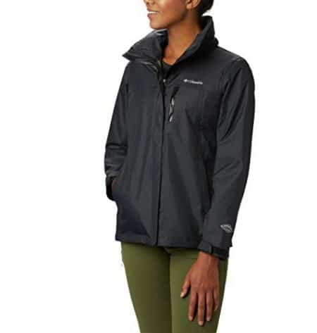 Columbia Women's Pouration Jacket, Waterproof & Breathable 1