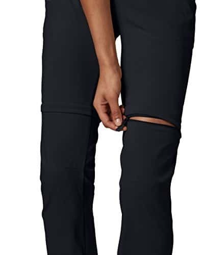 Columbia Women's Saturday Trail II Convertible Pant, Water & Stain Resistant, 12 Short, Black 4