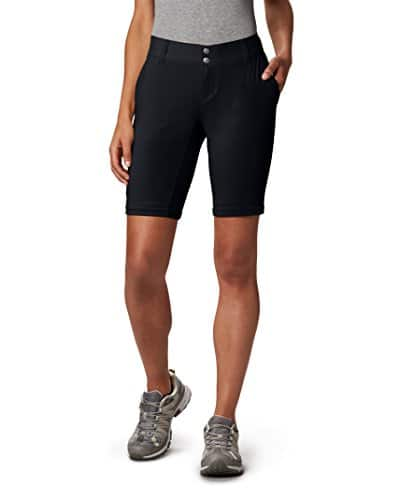 Columbia Women's Saturday Trail II Convertible Pant, Water & Stain Resistant, 12 Short, Black 5