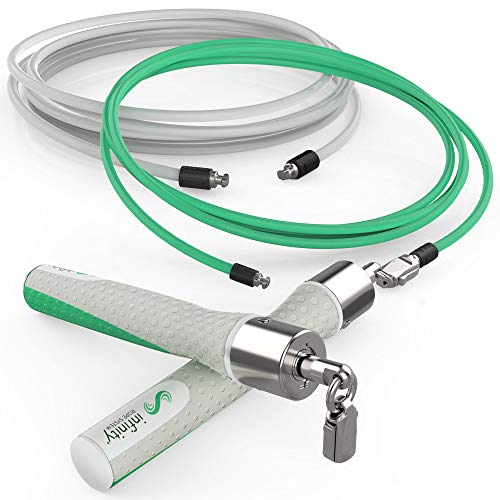 Crossrope Get Lean - Weighted Jump Rope Set 27