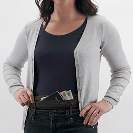 Eagle Creek Silk Undercover Money Belt, Black 2