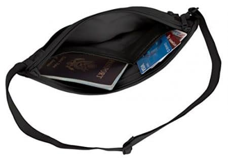 Eagle Creek Silk Undercover Money Belt, Black 3