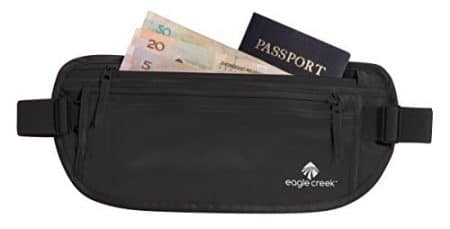 Eagle Creek Silk Undercover Money Belt, Black 1