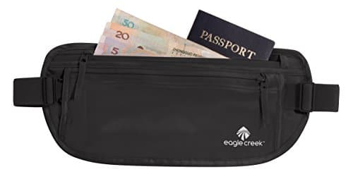Eagle Creek Silk Undercover Money Belt, Black 18