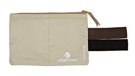 Eagle Creek Travel Gear Luggage RFID Blocker Hidden Pocket, Tan 1