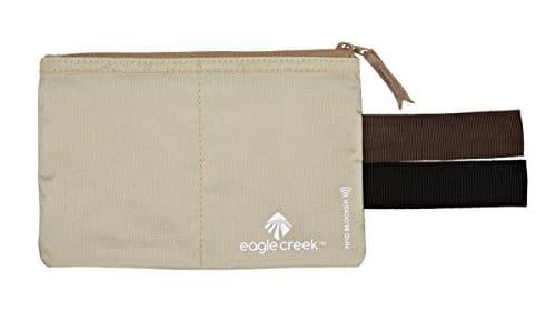 Eagle Creek Travel Gear Luggage RFID Blocker Hidden Pocket, Tan 30