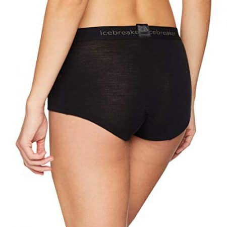 Icebreaker Merino Women's Everyday Boy Shorts Underwear, Merino Wool 2