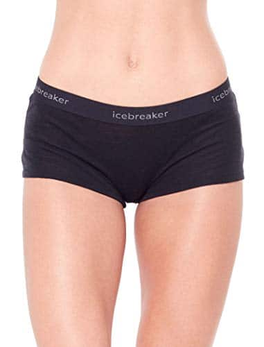 Icebreaker Merino Women's Everyday Boy Shorts Underwear, Merino Wool 3