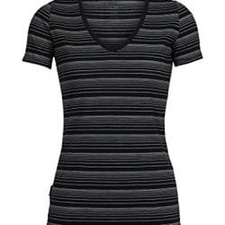 Icebreaker Merino Women's Tech-Lite Short Sleeve V Neck Tee 1