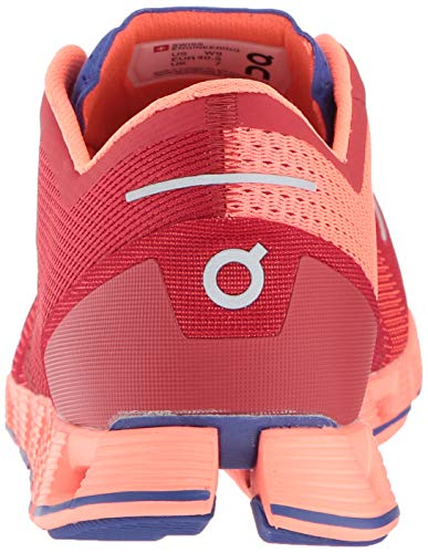 On Running Womens Cloud X Road Shoes Red/Flash SZ 7.5 3