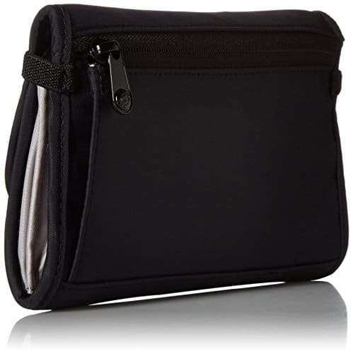 PacSafe RFIDsafe V250 Anti-Theft RFID Blocking Travel Wallet, Black 14