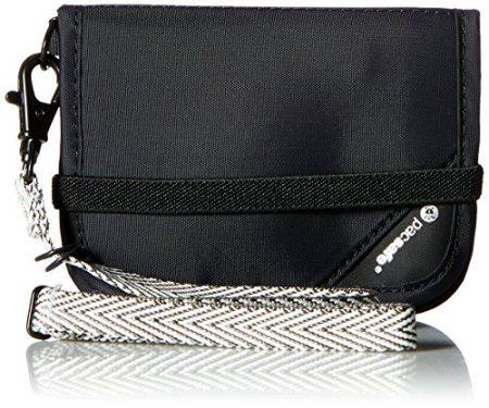PacSafe Rfidsafe V50 Compact Wallet, Goji Berry 1