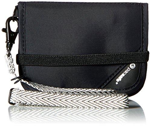 PacSafe Rfidsafe V50 Compact Wallet, Goji Berry 50