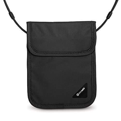 Pacsafe Coversafe X75 Anti-Theft RFID Blocking Neck Pouch, Black 13