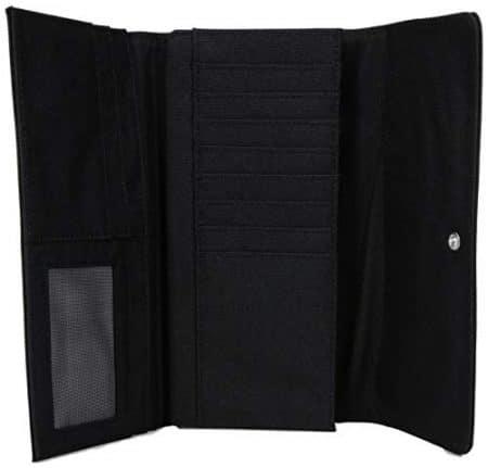 Pacsafe RFIDsafe LX200 Anti-Theft RFID Blocking Clutch Wallet, Black 4