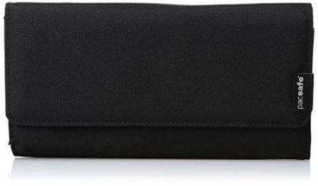 Pacsafe RFIDsafe LX200 Anti-Theft RFID Blocking Clutch Wallet, Black 1