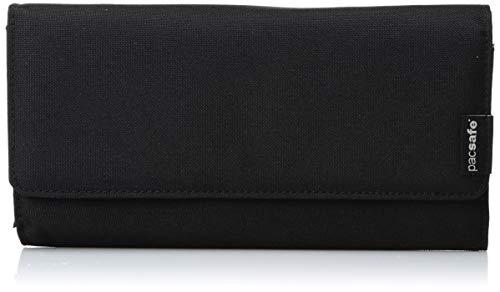 Pacsafe RFIDsafe LX200 Anti-Theft RFID Blocking Clutch Wallet, Black 16