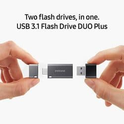 Samsung Duo Plus 256GB - 300MB/s USB 3.1 Flash Drive (MUF-256DB/AM) 2