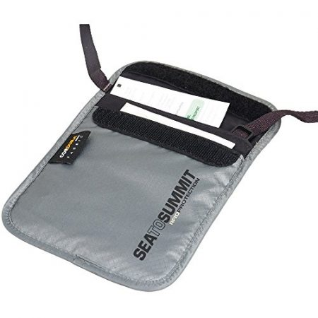 Sea to Summit RFID Travelling Light Neck Pouch, Small, Grey 2