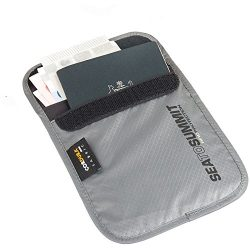 Sea to Summit RFID Travelling Light Neck Pouch, Small, Grey 7