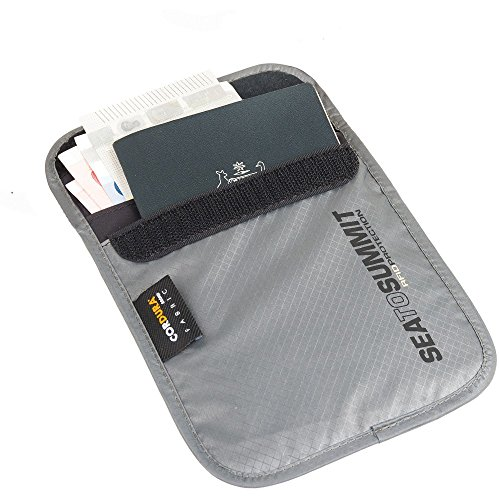 Sea to Summit RFID Travelling Light Neck Pouch, Small, Grey 57